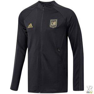 Adidas MLS Los Angeles FC Anthem Soccer Jacket 2XL